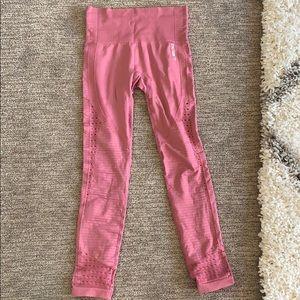 NWOT Pink Gymshark energy seamless+